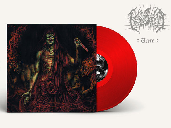 Urere - LP (ltd edition in red vinyl with booklet)