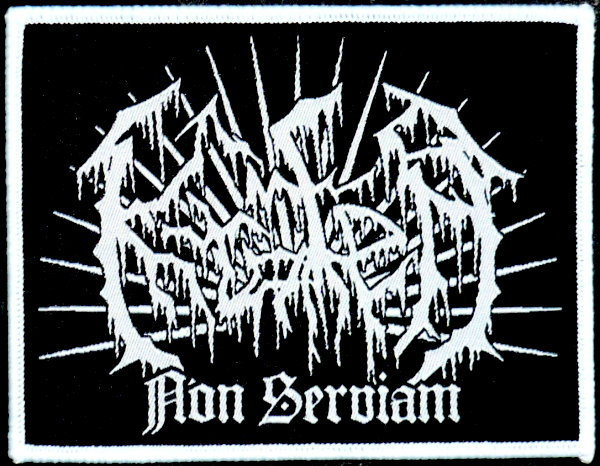"Krater PATCH ""Logo - Non Serviam"""